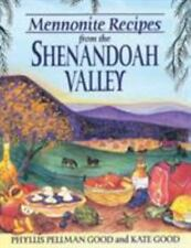 MENNONITE RECIPES FROM THE SHENANDOAH VALLEY NEW PAPERBACK BOOK