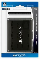 HORI Officially Licensed Card Case 12 for PlayStation Vita Black (PSV-012U) NEW