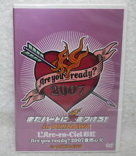 L'Arc~en~Ciel Are You Ready? 2007 Live in OKINAWA TaiwanDVD -Normal Edition-