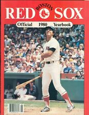1980 Boston Red Sox Yearbook: Fred Lynn