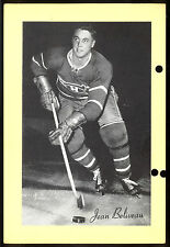 1945-1964 BEEHIVE GROUP 2 JEAN BELIVEAU MONTREAL CANADIENS HOCKEY PHOTO