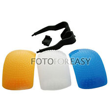 Color Puffer Pop-Up Flash Diffuser For Canon 1100D 700D 650D 550D 60D 6D 5D III