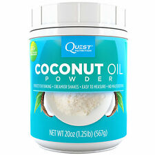 Quest Nutrition Coconut Oil Powder - 20 oz Powder