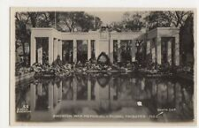 Brighton, War Memorial & Floral Tributes 1922 RP Postcard, B178