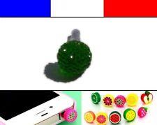 Cache anti-poussière jack universel iphone capuchon bouchon Boule strass 11