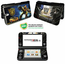 Transformers Vinyl Skin Sticker for Nintendo 3DS XL