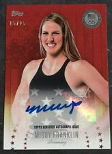 2016 Topps US Olympic Champions Autograph Missy Franklin USA Swimming 05/25