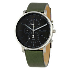 Skagen Hagen Charcoal Grey Dial Mens World Time Watch SKW6298