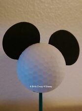 Disneyland  MICKEY MOUSE GOLF BALL Antenna Topper RETIRED SOLD OUT