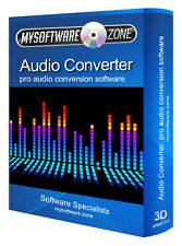 Audio Converter Pro - Convert MP3, WAV, WMA, AAC, AC3, OGG, DTS, FLAC and More!