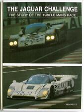 THE JAGUAR CHALLENGE THE STORY OF THE 1986 LE MANS RACE BOOK ISBN:0946132399