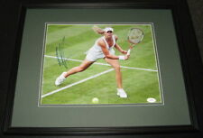 Maria Kirilenko Signed Framed 11x14 Photo JSA