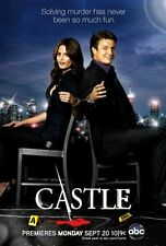 Castle Poster Stana Katic TV Show Nathan Fillion 24x36""