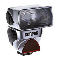 NEW Sunpak PZ40X vII External Hotshoe TTL Flash PZ40XIIM for Sony/Konica Minolta