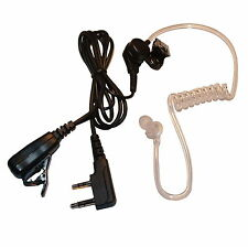 Acoustic Tube Earpiece for Kenwood / HYT Handhelds