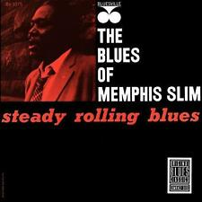 Memphis Slim - Steady Rolling Blues / Original Blues Classics CD 1990 (OBCCD-523