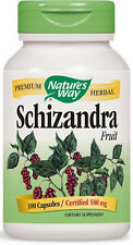 Schizandra Fruit - 100 Capsules - Nature's Way