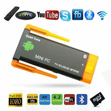 Quad Core Android 2G+8G Smart TV BOX Stick 1080P HDMI Player WIFI CX919 UK-Plug