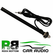 CT27UV21 Universal Car Stereo Radio Wing Mount Aerial Antenna (Chrome Mast)