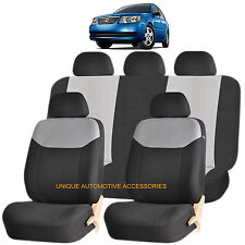 GRAY ELEGANT AIRBAG COMPATIBLE SEAT COVER SET for SATURN VUE OUTLOOK