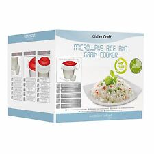 KitchenCraft Microwave Rice Cooker 1.5lt