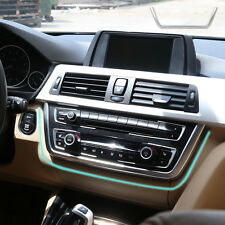 Chrome Dashboard Console Cover Trim for BMW 3 4 Series F30 F31 F32 F34 2013-2015