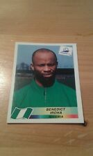N°251 BENEDICT IROHA # NIGERIA PANINI FRANCE 98 WORLD CUP ORIGINAL 1998