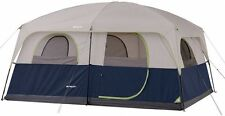 Ozark Trail 10-Person Camping Tent Blue Instant Outdoor Family Cabin Shelter New
