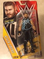 WWE KEVIN OWENS Signed Mattel NXT Series 58  Action Figure