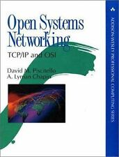 Open Systems Networking: TcpIp and Osi (Addison-Wesley Professional Co-ExLibrary