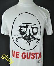 """MAGLIA MEMES """"ME GUSTA"""" Tg. M-L-XL vestibilità comoda maglietta FACEBOOCK"""