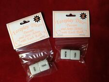 Foreplay Dice Glow in the Dark Adult Couples Sex Game Party Date Night BOGO!