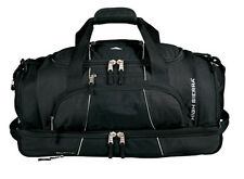 "High Sierra® Colossus 26"" Drop Bottom Travel Weekend Duffel Bag Black"