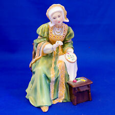 "Royal Doulton ""ANNE OF CLEVES"" HN3356. Book £500! Henry VIII Wives. MINT Cond!"