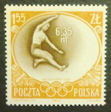 POLAND STAMPS MNH 1Fi849 Sc756 Mi994 - Olimpic Games Melbourne, 1956, clean