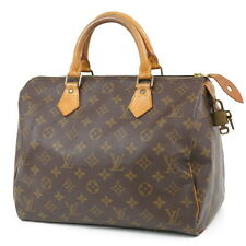 Authentic Louis Vuitton Monogram Speedy 30 M41526 Hand Bag Boston Bag