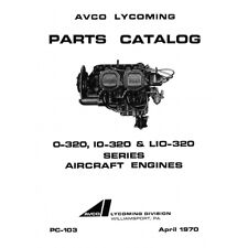 Lycoming Parts Catalog PC-103