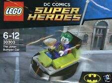 LEGO 30303 DC Super Heroes The Joker BUMPER CAR in OVP POLYBAG NUOVO 2015