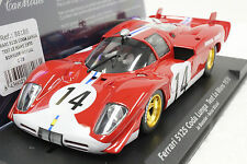 FLY C75 FERRARI 512S LE MANS 1970 NEW 1/32 SLOT CAR IN DISPLAY CASE *RARE*