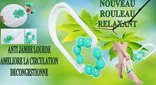Rouleau masseur anti cellulite peau d'orange cuisse bras massage relaxation