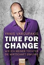 EV*09.12.2016 Time for Change von Yanis Varoufakis (2016, Taschenbuch)