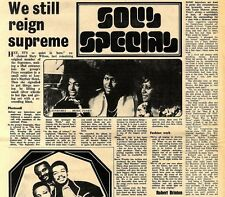 17/3/1973D10 Article & Picture(s) The Supremes- We still reign supreme