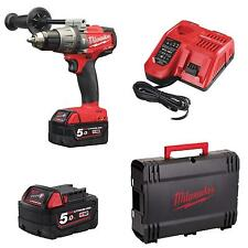 Avvitatore Trapano Fuel a percussione Milwaukee M18 FPD-502X batterie 5 Ah + car