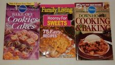 lot of 3 Pillsbury Cookies Cakes Down Home Baking Family Living Sweets Cookbooks