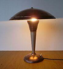 Lampe art déco en cuivre