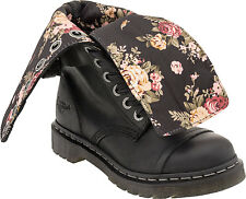 Dr. Martens Women`s Triumph 1914 W Black Wyoming Floral lining US 5 EU 36 UK 3