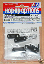 Tamiya 54529 M-05 Setting Suspension Arm Set (Front Upper) (M05/M05Ra), NIP