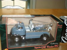 1952 SUPERIOR GMC WRECKER / TOW TRUCK, Die Cast Metal Toy, Scale: 1/34