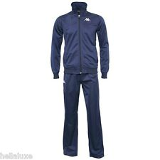 NWT~Kappa WHT RERNOV BRUSHED JERSEYTrack suit Sweat shirt Jacket-Pant SET~Mens M