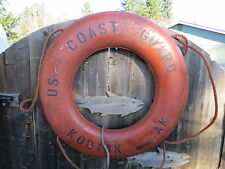 30 inch  LIFE PRESERVER RING SAVER FLOAT BUOY BOUY US COAST GUARD  BOAT (#2100)